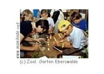 Kindergeburtstag im Zoologischen Garten Eberswalde