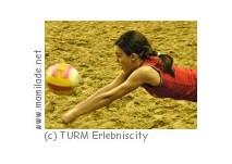 Beachsport in der TURM Erlebniscity Oranienburg