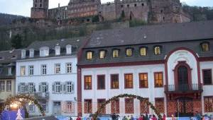 """Christmas on ice"" in Heidelberg"