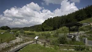 Eiszeitliche Landschaftsformen - Blick über den Eiszeitpark Engen