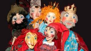 Kasper, Seppel, Königin - das Ensemble der Freiburger Puppenbuehne