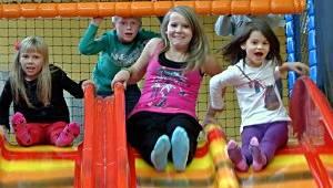 Kindergeburtstag in der Kids Arena in Marienberg (c) Kids Arena in Marienberg