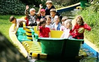 Kindertag im Filmpark Babelsberg