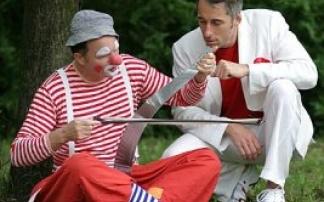 Clown Bobo + Zauberer Christian Berlin, © Foto: Dietmar Spolert