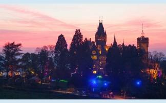 Weihnachtszeit auf Schloss Drachenburg