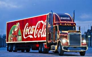 Coca Cola Weihnachtstour, © Coca Cola