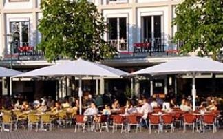 Café Extrablatt in Darmstadt