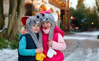 Weihnachtliche Wunderwelt im Europa-Park