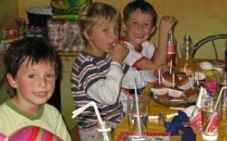 Kindergeburtstag Indoorspielhalle flipp-flopp