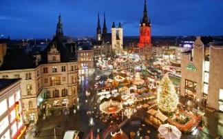 Weihnachtsmarkt in Halle an der Saale