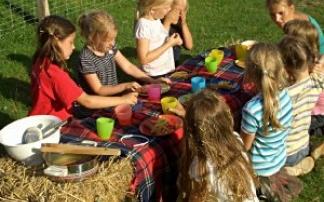 Kindergeburtstag auf dem Harderhof