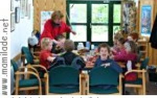 Kindergeburtstag im naturschutz infohaus boberger niederung
