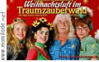 Weihnachtsluft im Traumzauberwald