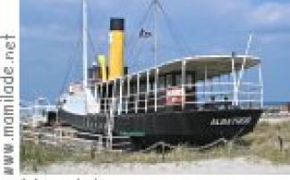 Museumsschiff Albatros Damp