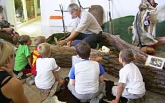 Kindergeburtstag im Indianermuseum Derenburg