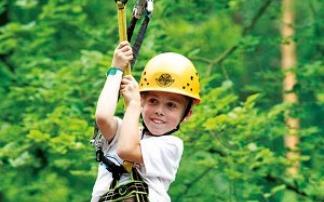 Herausforderungen im Abenteuerpark Kandel