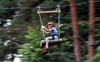 CLIMB UP! - Kletterwald® in Klaistow