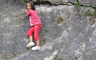 Kletterfelsen in Wippra