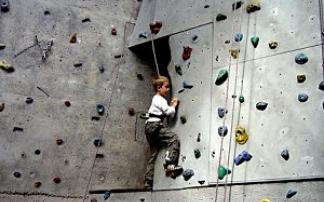 Kindergeburtstag im DAV-Kletterzentrum Hamburg