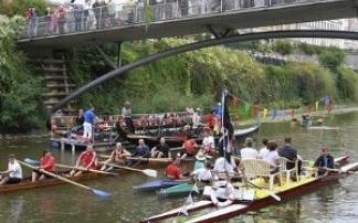 Wasserfest in Leipzig