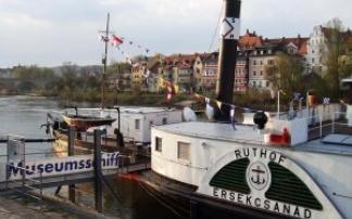 Museumsschiff Ruthof (c) Regensburger Personenschifffahrt Klinger
