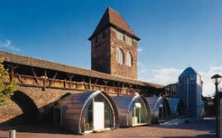 Das Nibelungenmuseum an der Stadtmauer (c) Nibelungenmuseum Worms