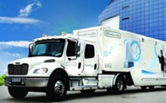 Nintendo Truck