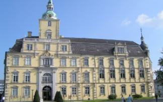 Oldenburger Schloss - Frontansicht