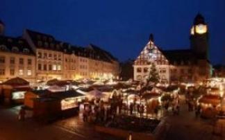 © Stadt Plauen, Foto I. Pastierovic Weihnachtsmarkt in Plauen