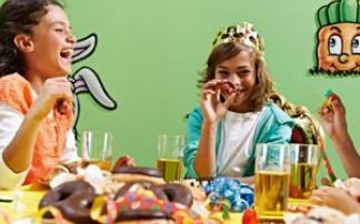 Kindergeburtstag in der Ravensburger Kinderwelt