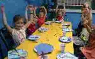 Kindergeburtstag im Indoorspielplatz Rodgau