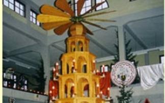 Pyramidenfest in Ronneburg - der besondere Weihnachtsmarkt
