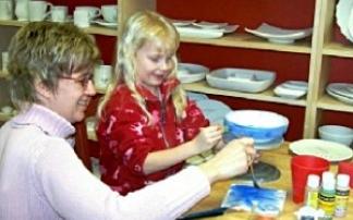 Paint Pots Keramikmalstudio in Satrup