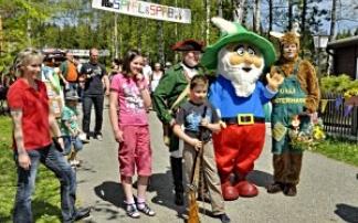 Familienfest im KiEZ Querxenland nach Seifhennersdorf