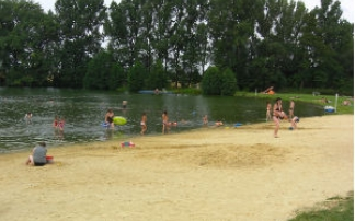 Strandbad Aga bei Gera