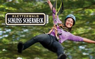 Tiefblick Kletterwald Scherneck