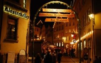 Altdeutscher Weihnachtsmarkt Bad Wimpfen (c) Verein f. Gewerbe, Handel & Industrie eV.