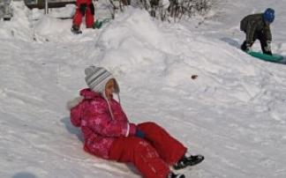 Wintersport am Datenberg