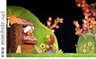"""Der kleine Bär """"Nein-Nein"""" Kikeriki Kindertheater Darmstadt"""