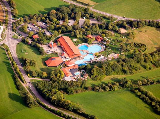 Luftbildaufnahme badkap Albstadt