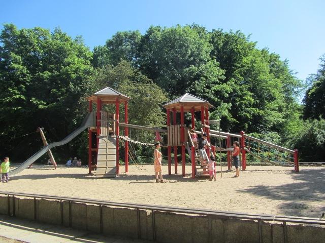 Spielplatz im Großen Tiergarten Berlin