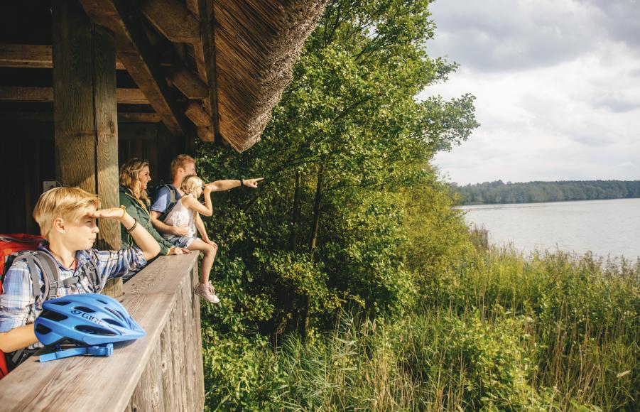Die wildromatische Weite zwischen Ostsee und Seenplatte verspricht einen abwechslungsreichen Urlaub im Sattel, Copyright: TMV/Roth