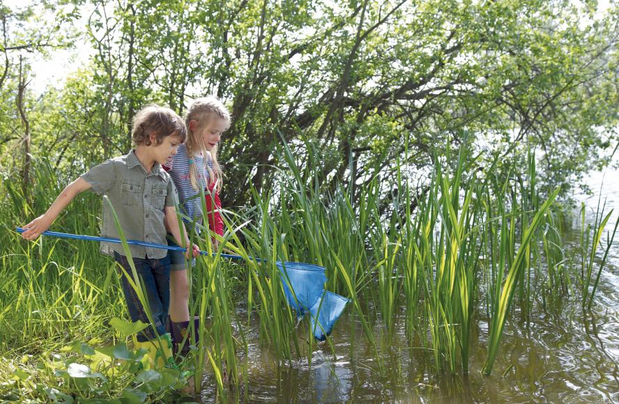 Natur entdecken: Familienurlaub in der Mecklenburgischen Seenplatte Copyright: TMV/outdoor-visions.com, Schneider