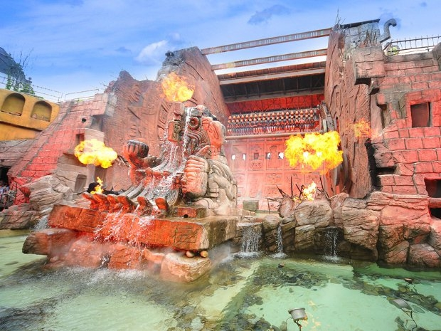 Action im Phantasialand