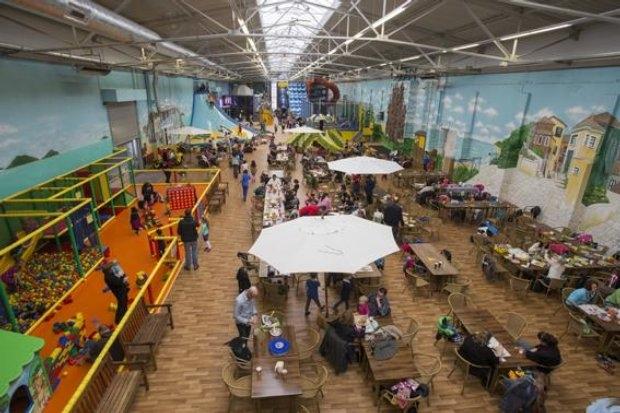 Erlebnispark Gevelsberg - Haupthalle mit Kleinkinderbereich