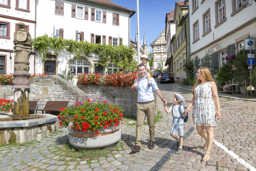 Familien-Entdeckertour durch Bad Wimpfen