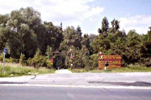 Eingang zum Abenteuerspielplatz Melverode in Braunschweig