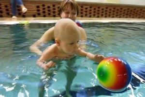 Babyschwimmen in der Fischhausstrasse Dresden