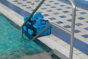 Babyschwimmen im Georg-Arnhold-Bad in Dresden