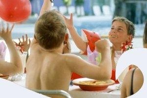 Kindergeburtstag im Freizeitbad Arobella in Bad Arolsen (c) Arobella